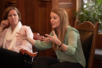 11/15/18: Abby Fabiaschi '98 & Kristy Norbert visit Taft