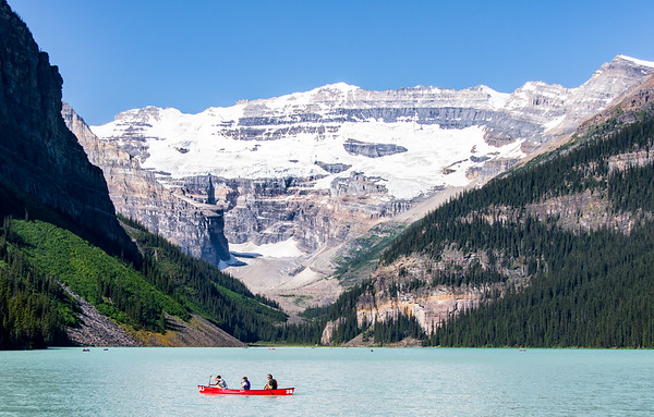 Lake Louise, Rocky Mountains, Alberta, Canada