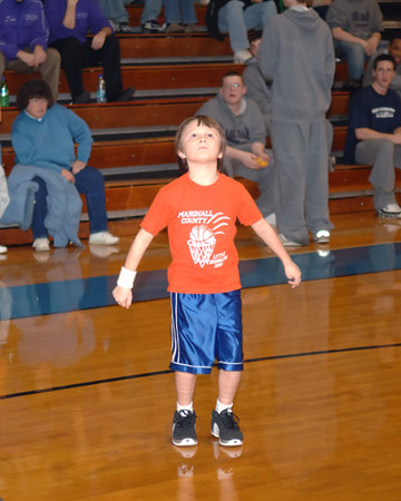Marshall County Little Dribblers - First & Second Grade  -  January 13, 2007