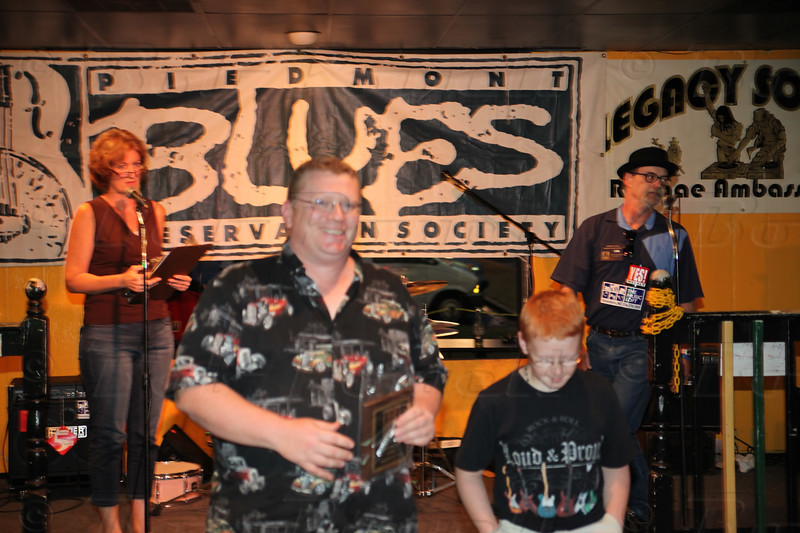 Foothills Blues Society - 2nd place