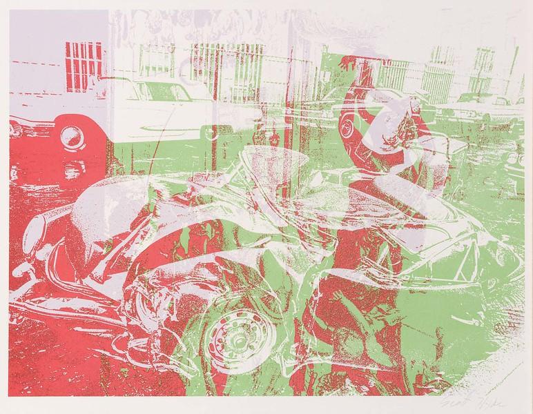 """Scott Hyde, """"Car Wreck"""" (ca 1970s)"""