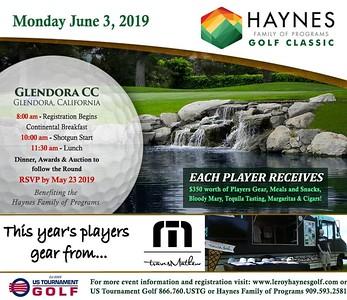 2019 Haynes Family of Programs Golf Tournament