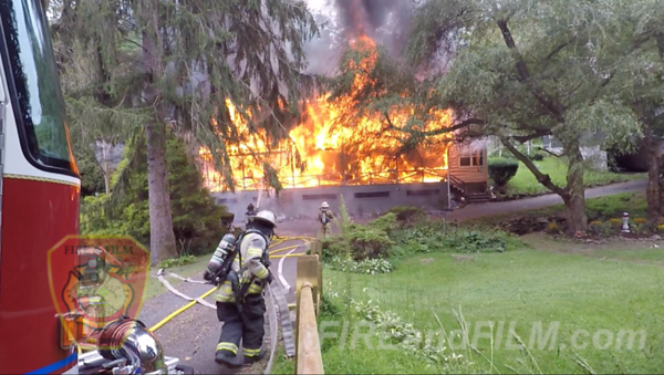 Schuylkill County - N. Manheim Twp. - Dwelling Fire - 08/13/2019