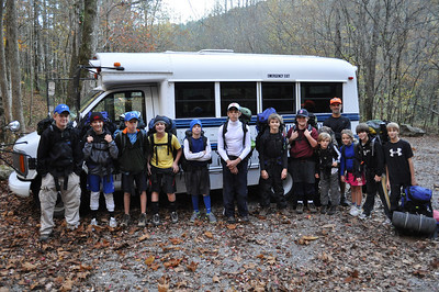 Middle School Backpacking 10-30