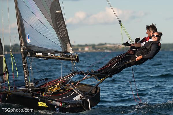 2015 - Evening sail in Int'l 14