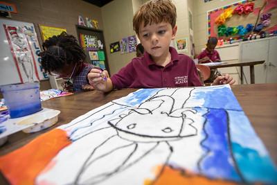 Art Class - First Grade