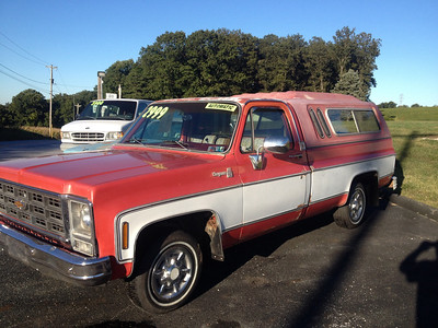1979 Chevy 1500 pickup 2wd