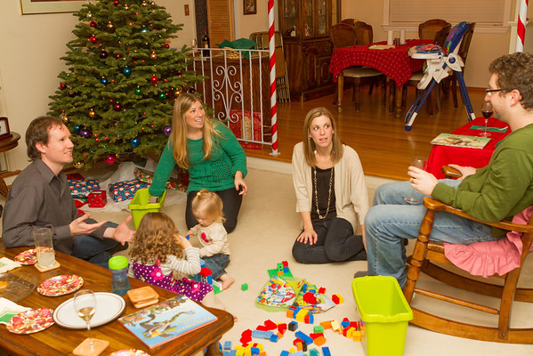 Christmas Eve 2012 at the Eggers