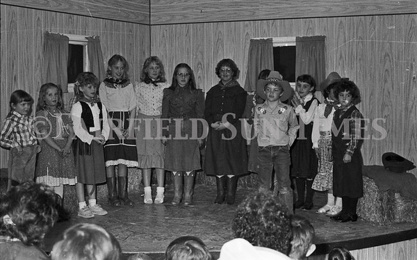 1986 - Spring Progam at Golden Ridge School