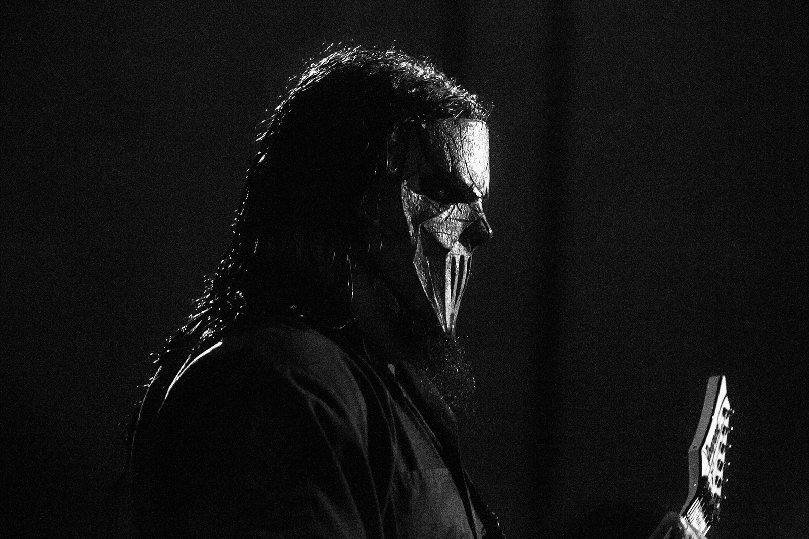 Mick Thomson of Slipknot by Adam Elmakias