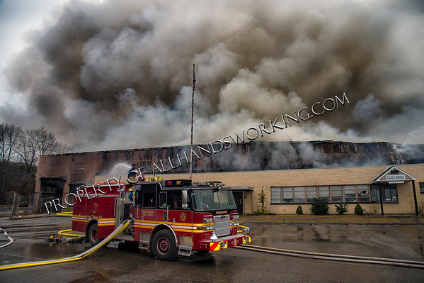 4th alarm Willimantic Waste Paper 1590 W. Main St.