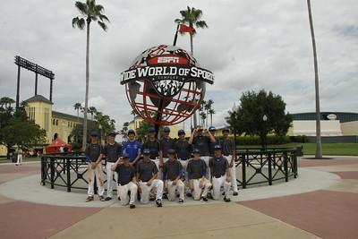 HCYP 14U Raiders Team at ESPN Wild World of Sports  Complex