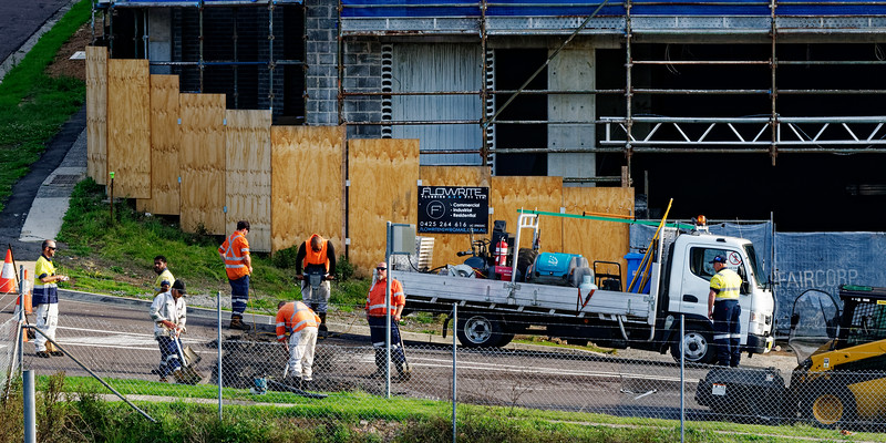 Building progress 142d. At 47 Beane St. Gosford. (MONTH 2018.