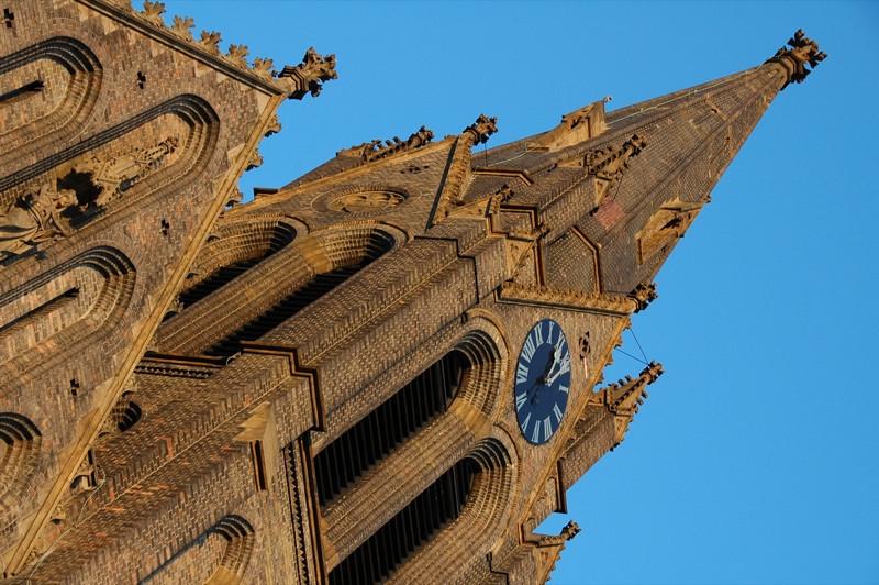 Church Steeples at Namesti Miru - Prague, Czech Republic