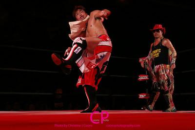 Masaaki Mochizuki, Dragon Kid, Gamma vs. Genki Horiguchi H.A.Gee.Mee!!, Mr. Quu Quu Tanizaki Naoki Toyonaka Dolphin, Jimmy Kanda