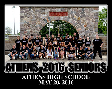 Athens High School Seniors Last Day 5-20-2016