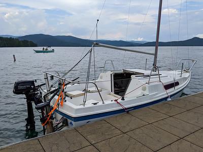 Jocassee Summer Sailing 2020