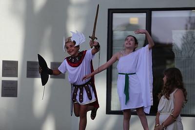 Fifth Grade Greek Plays | May 17, 2018