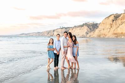 Scripps Pier La Jolla Sunset Family Photographs - Cohen October 2019