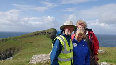 300 miles walked around Skye!