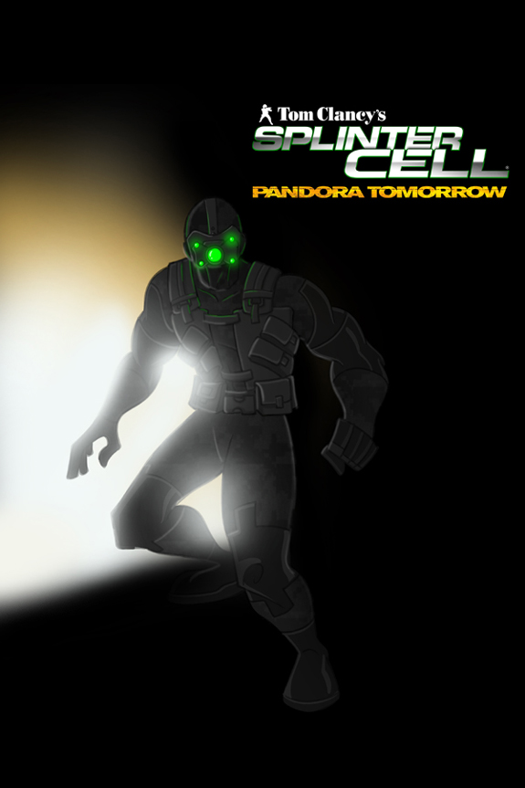 Splinter Cell Pandora Tomorrow Cover 1