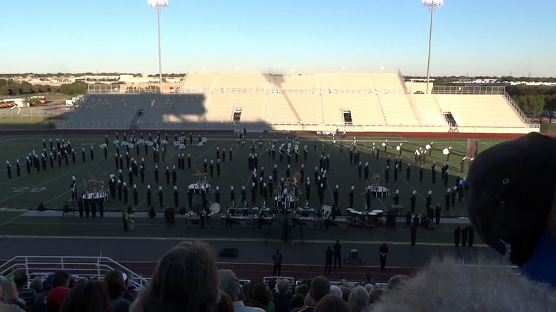 2013-10-19 - Dragon Band UIL Marching Contest.MTS