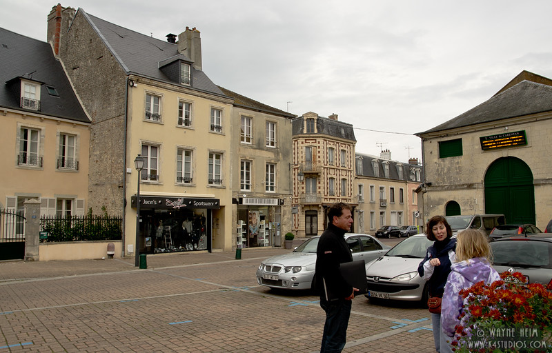 Street in Normandy  Photography by Wayne Heim