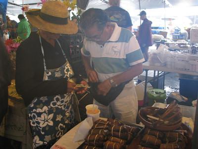 Saturday at Farmers Market Day Seven