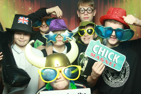 Photo Booth Hire - Logan's 13th Birthday