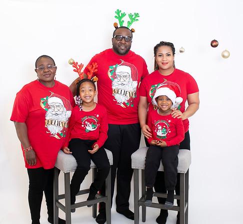 Jide Akindele Family Christmas 2020
