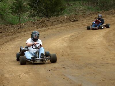 Kartin' at Hayden's 2008