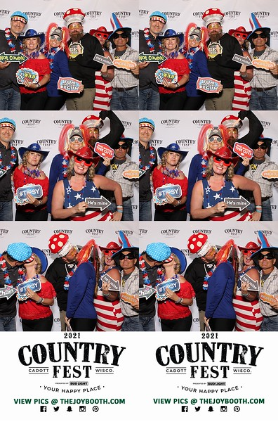 Country Fest 2021 VIP PRINTS Saturday 6-26-2021