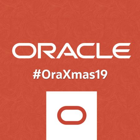 ORACLE #ORAXMAS19