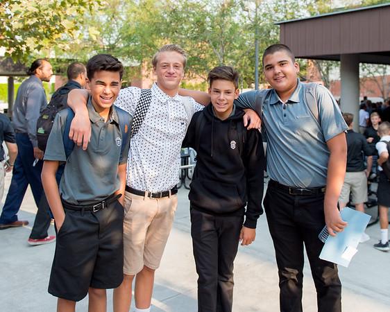 Freshmen First Day 8-7-18
