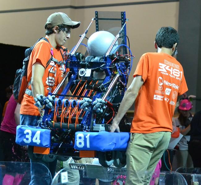 2016 FIRST Bayou Regional Robotics - Spectrum 3847 - 749