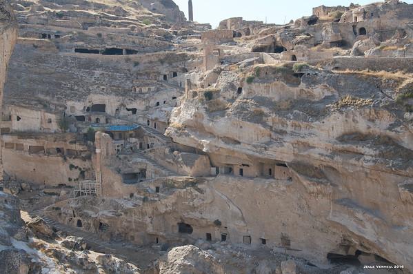 The rock dwellings of Hasankeyf