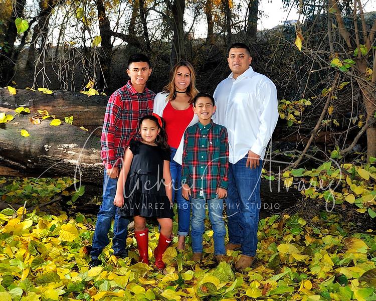 Zamora Family Portrait
