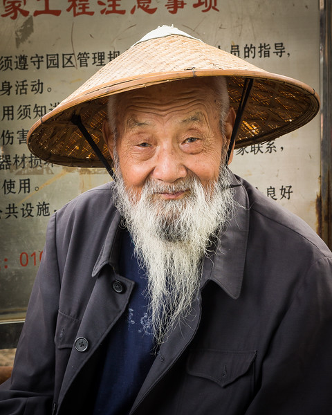 'Hutong Man' - Beijing, China