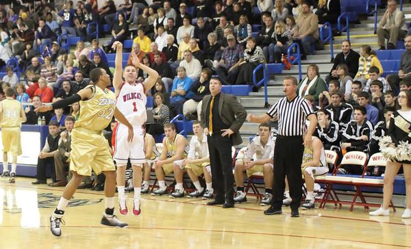 WHS Boys Basketball vs. Rochester 12/7/11