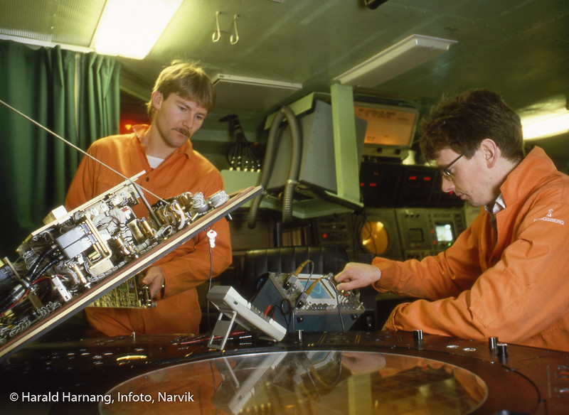 Norsk forsvarsteknologi, NFT, måling av toleranser på marineskip/kystvakt.