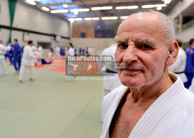 2013 Tonbridge Judo Training Camp 131220A5503: Dicky Marcroft was one of the coaches at the Tonbridge International Judo Training Camp on Friday, ....
