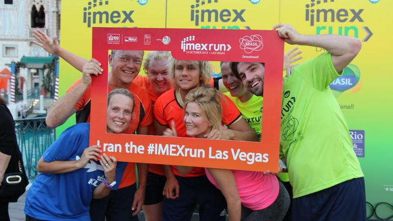 Running the #IMEXrun Las Vegas