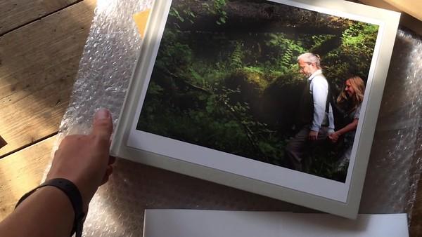 engagement photo album video