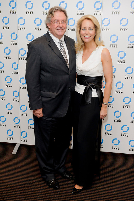. Former U.S. CIA Operations Officer, Valerie Plame Wilson and husband Joseph C. Wilson, arrive for the UK film premiere of Countdown to Zero at a central London venue,  Tuesday June. 21, 2011. (AP Photo/Jonathan Short)