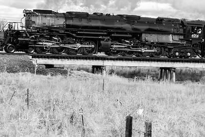Union Pacific Big Boy steam locomotive No. 4014