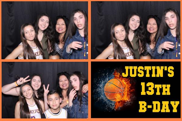 Justin's 13th Birthday!