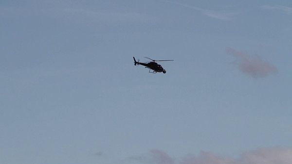 Bill Richards Copter over 23rd Street