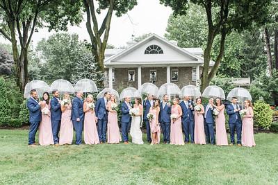 Kelly and Trevor's Wedding at Linwood Estate