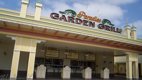 Disneyland Resort, Disney California Adventure, Paradise, Pier, Paradise Pier, Garden Grill