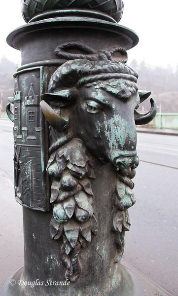 Lamp-post detail